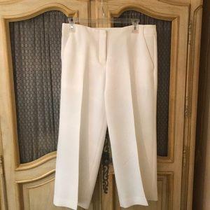 Express white Capri pants